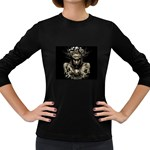 Zombie Walking Dead Earth Woman Women s Long Sleeve Dark T-Shirt