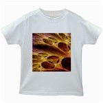 Forgotten Caverns of Dust Fantasy Fractal Kids White T-Shirt