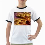 Forgotten Caverns of Dust Fantasy Fractal Ringer T