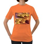 Forgotten Caverns of Dust Fantasy Fractal Women s Dark T-Shirt