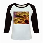 Forgotten Caverns of Dust Fantasy Fractal Kids Baseball Jersey