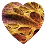 Forgotten Caverns of Dust Fantasy Fractal Jigsaw Puzzle (Heart)