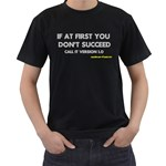 Call it version 1.0 Black T-Shirt