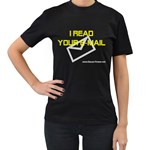 I read you e-mail Women s Black T-Shirt