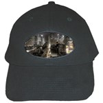 New York Gothic Dark Cityscape at Night Black Cap