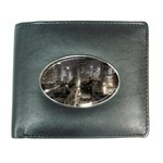 New York Gothic Dark Cityscape at Night Wallet