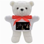New York Gothic Dark Cityscape at Night Teddy Bear