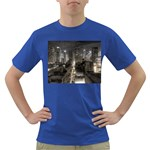 New York Gothic Dark Cityscape at Night Dark T-Shirt