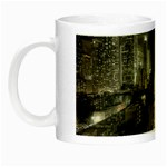 New York Gothic Dark Cityscape at Night Night Luminous Mug