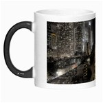 New York Gothic Dark Cityscape at Night Morph Mug