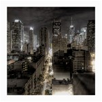 New York Gothic Dark Cityscape at Night Glasses Cloth (Medium)