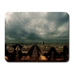 Gothic City Landscape and Storm Clouds Small Mousepad