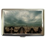 Gothic City Landscape and Storm Clouds Cigarette Money Case