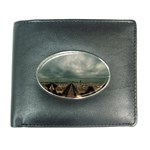 Gothic City Landscape and Storm Clouds Wallet