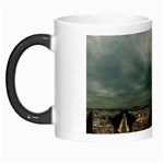 Gothic City Landscape and Storm Clouds Morph Mug
