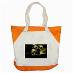 Dark Gothic Pirate Ship at Sea Fantasy Accent Tote Bag