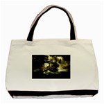 Dark Gothic Pirate Ship at Sea Fantasy Classic Tote Bag (Two Sides)