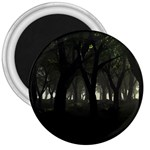 Gothic Dark Forest at Dusk 3  Magnet