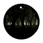 Gothic Dark Forest at Dusk Ornament (Round)