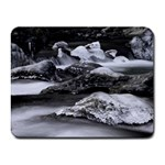 Dark Gothic Winter River of Ice Small Mousepad