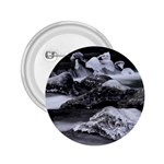 Dark Gothic Winter River of Ice 2.25  Button
