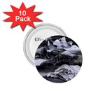 Dark Gothic Winter River of Ice 1.75  Button (10 pack)