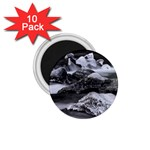 Dark Gothic Winter River of Ice 1.75  Magnet (10 pack)