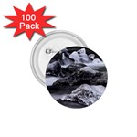 Dark Gothic Winter River of Ice 1.75  Button (100 pack)