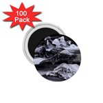 Dark Gothic Winter River of Ice 1.75  Magnet (100 pack)