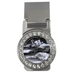 Dark Gothic Winter River of Ice Money Clip (CZ)