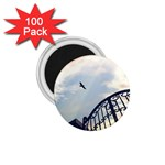 Lonely Crow at Palace Gate Scenic Sky 1.75  Magnet (100 pack)