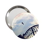Lonely Crow at Palace Gate Scenic Sky 2.25  Handbag Mirror