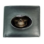 Face of Grim Reaper Goth Death Dark Wallet