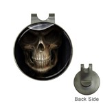 Face of Grim Reaper Goth Death Dark Golf Ball Marker Hat Clip