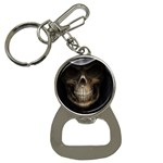 Face of Grim Reaper Goth Death Dark Bottle Opener Key Chain