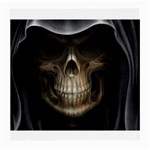 Face of Grim Reaper Goth Death Dark Glasses Cloth (Medium, Two Sides)