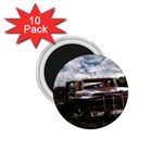 Apocalyptic Pickup Truck in Field 1.75  Magnet (10 pack)