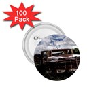 Apocalyptic Pickup Truck in Field 1.75  Button (100 pack)