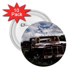Apocalyptic Pickup Truck in Field 2.25  Button (10 pack)