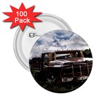 Apocalyptic Pickup Truck in Field 2.25  Button (100 pack)