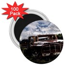 Apocalyptic Pickup Truck in Field 2.25  Magnet (100 pack)