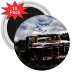 Apocalyptic Pickup Truck in Field 3  Magnet (10 pack)