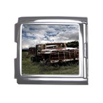 Apocalyptic Pickup Truck in Field Mega Link Italian Charm (18mm)
