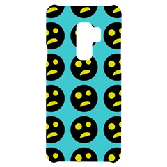 005 - Ugly Smiley With Horror Face - Scary Smiley Samsung S9 Plus Black Uv Print Case by DinzDas