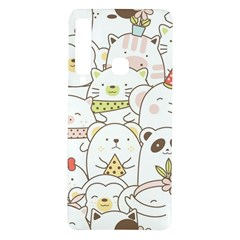 Cute-baby-animals-seamless-pattern Samsung Galaxy A9 Tpu Uv Case by Sobalvarro