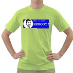 When in doubt REBOOT! Green T-Shirt