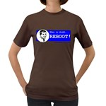 When in doubt REBOOT! Women s Dark T-Shirt