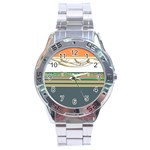 Sherellerippy4013by5178a4bc9b Stainless Steel Analogue Watch