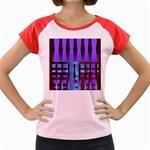 322203c6-cff8-4888-9b14-0f54298c1881 Women s Cap Sleeve T-Shirt