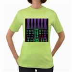 322203c6-cff8-4888-9b14-0f54298c1881 Women s Green T-Shirt